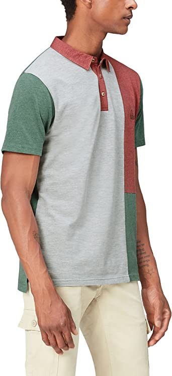 Marca Amazon - find. Polo con Paneles de Color para Hombre: Amazon ...