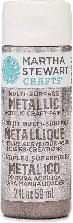 Martha Stewart Crafts Multi-Surface Metallic Craft Rose Chrome spray paint