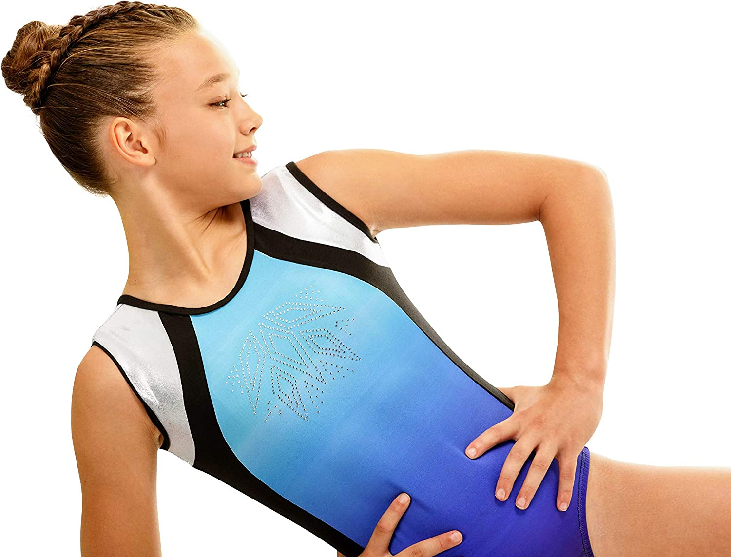 Various Colors and sizes United All Around Gymnastics Leotards For Girls