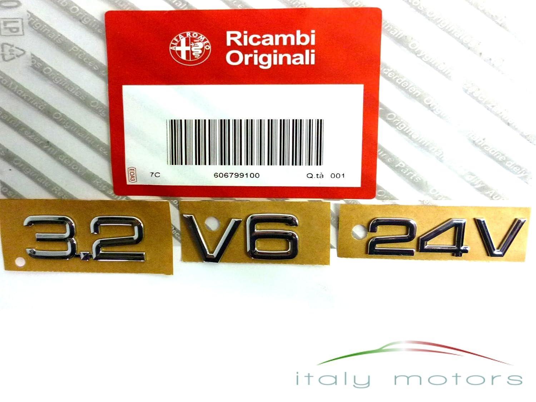 Original Alfa Romeo Giulietta Emblem Heck hinten Scudetto 50518955