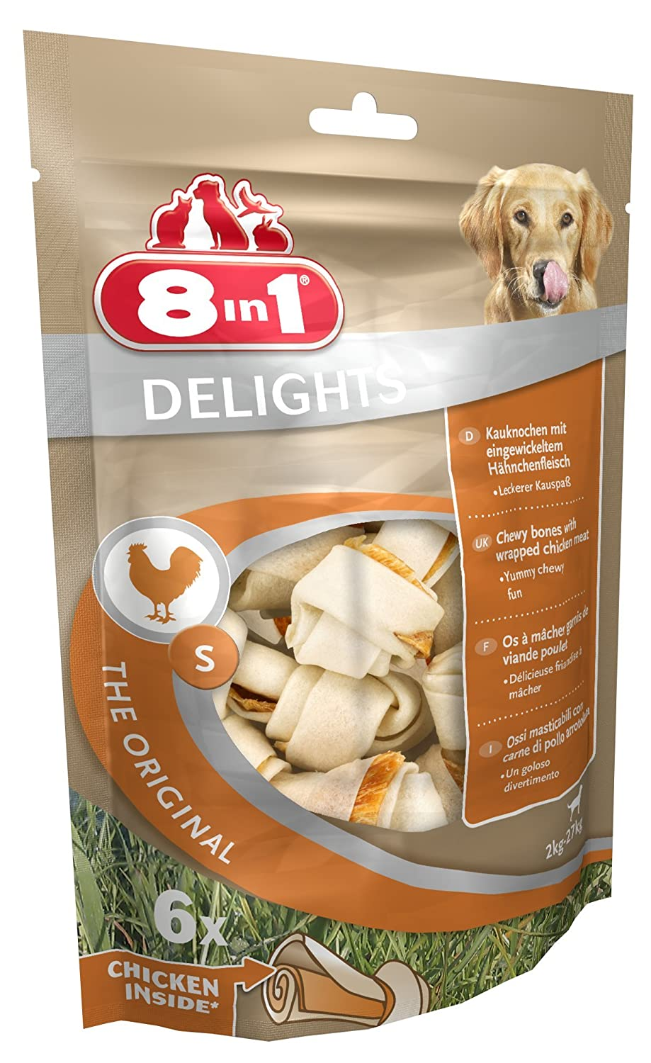 (6 Pack) 8in1 - Delights Sticks