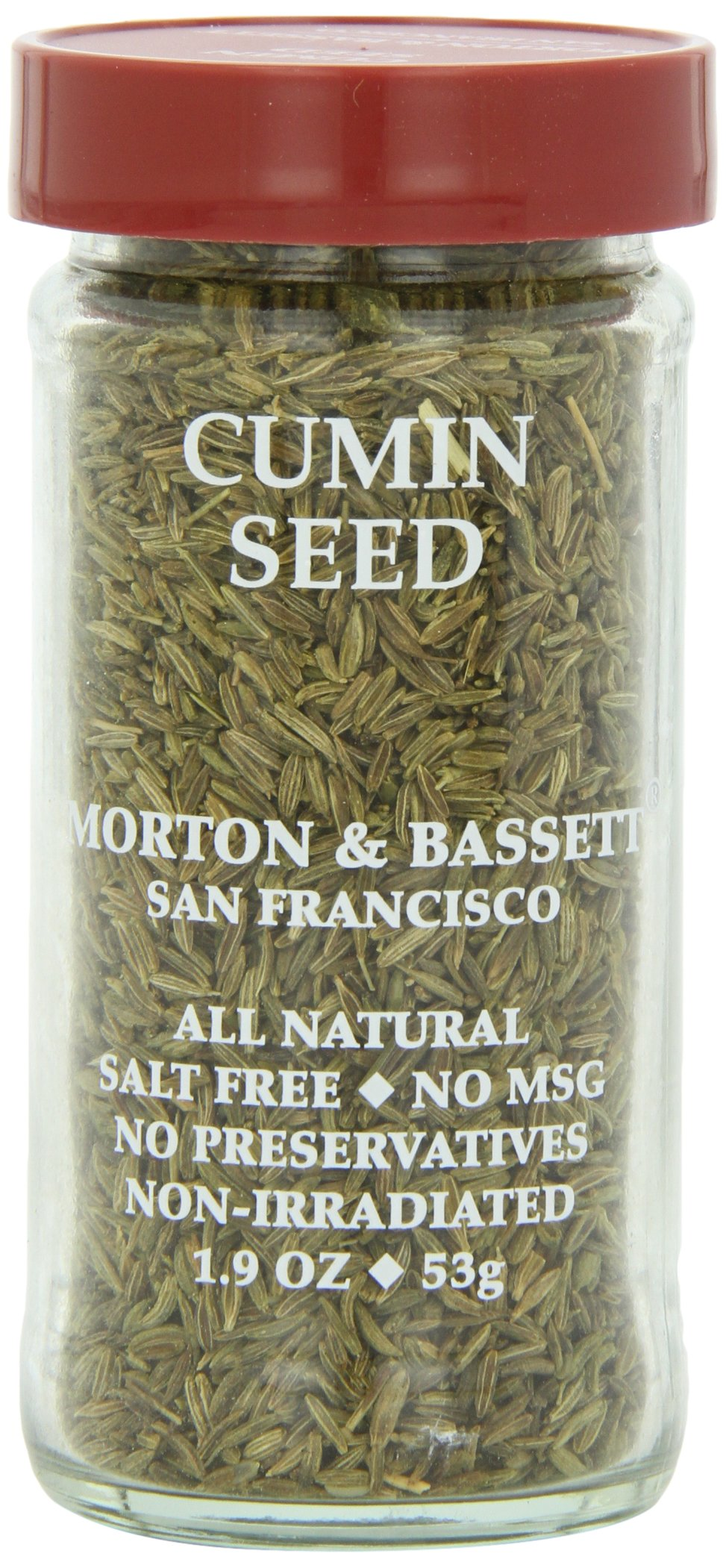 Morton & Basset Spices, Cumin Seed, 1.9 Ounce (Pack of 3)