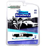 Greenlight Jake & ELWOOD'S BLUESMOBILE / 1974 Dodge Monaco from The Blues Brothers Hollywood Greatest Hits 1:64 Scale Die-Cas
