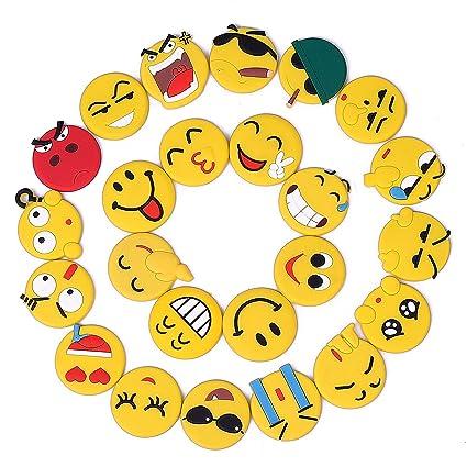 Nevera Imán, Imanes de nevera Emoji Adhesivo Decorativo Nevera Imán Etiqueta Cocina Accesorios para Pizarra Blanca Oficina Suministros Escuela Locker ...