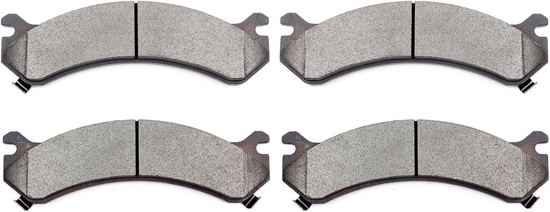 4 pcs A-Pads Rear BRAKE PADS For 2003 2004 2005 CHEVROLET EXPRESS VAN 3500