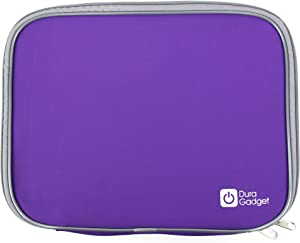 "DURAGADGET Purple ""Travel"" Water Resistant & Shock Absorbent Neoprene Case With Dual Zips For Acer AC710 C7 Chromebook (Gloss Grey)-(11.6 inch, Intel Celeron 847 1.1GHz, 320GB HDD, Integrated Graphics, Chrome OS) And Acer Aspire V5-171-323a4G50ass 11,6"" Windows 8"