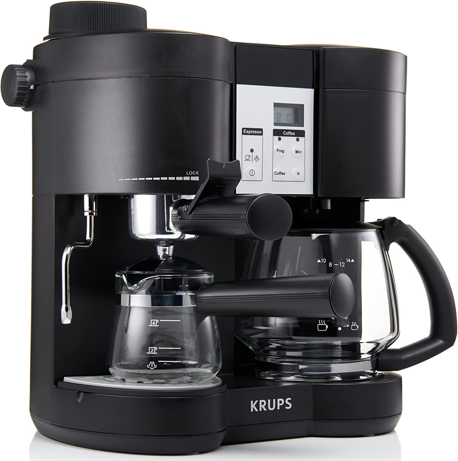Amazon.com: Krups XP160050 Coffee Maker and Stainless ...