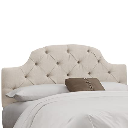 Amazoncom Attractive Comfortable Upholstered Tufted Headboard In - Comfortable-upholstered-headboard