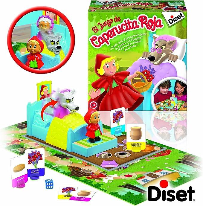 Diset 75109 - La Caperucita Roja: Amazon.es: Juguetes y juegos
