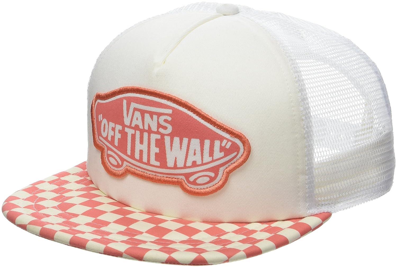 Vans_Apparel Beach Trucker Hat, Gorra de béisbol para Mujer, Negro (Black-White Checkerboard 56M), Talla única: Amazon.es: Ropa y accesorios