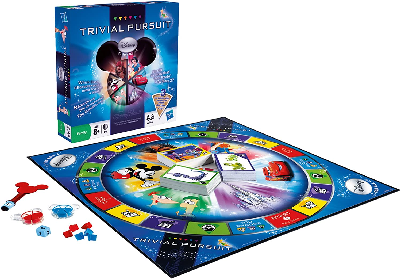 Juegos de Adultos Hasbro - Trivial Pursuit Disney Para Todos ...