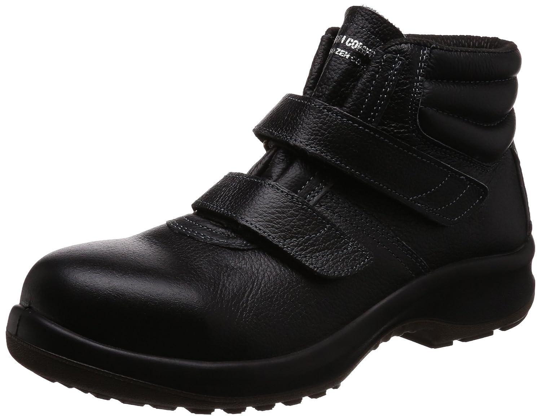 [ミドリ安全] 安全靴 JIS規格 中編上靴 プレミアムコンフォート PRM225 マジック B0761JRZNL 25.5 cm 3E ブラック ブラック 25.5 cm 3E