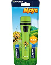 Varta 15630201421 Linterna Infantil LED, Verde