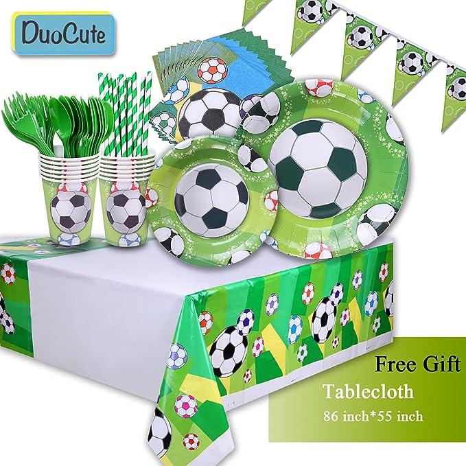Amazon.com: Duocute – Juego de 12 servilletas de fiesta de ...