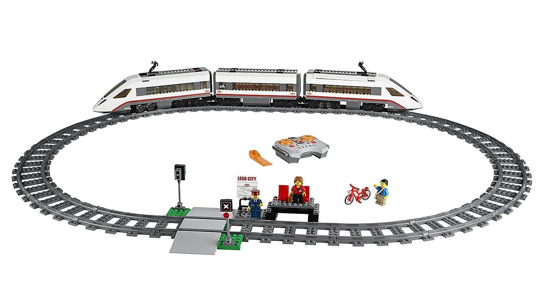 City Train Grande Lego De Passagers Jeu Consruction Le 60051 Vitesse À 8wv0mNn
