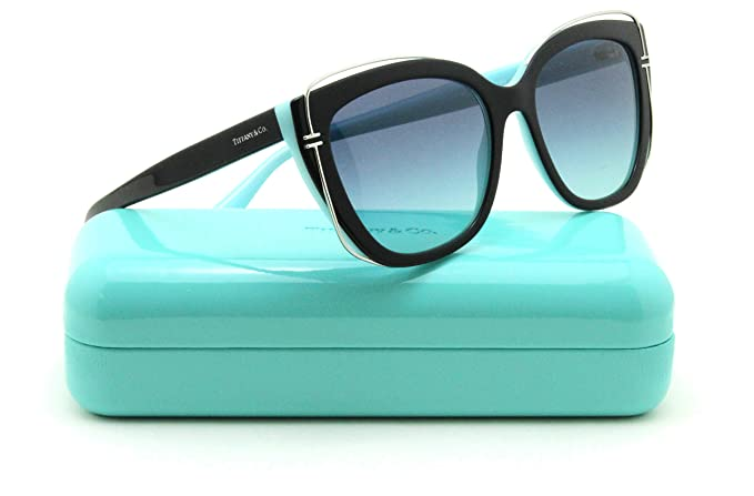 a2700e1026cf Image Unavailable. Image not available for. Colour  Tiffany   Co. TF 4148 Women  Cat-Eye Sunglasses ...