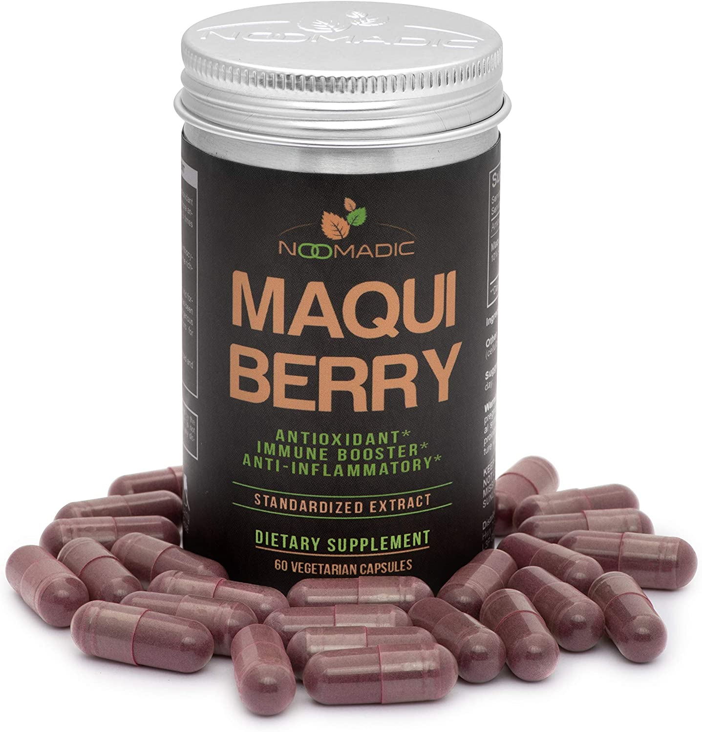 Amazon Com Maqui Berry 60 Capsules 500mg Each Antioxidant
