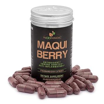 Amazon.com: noomadic Maqui Berry cápsulas, antioxidante ...