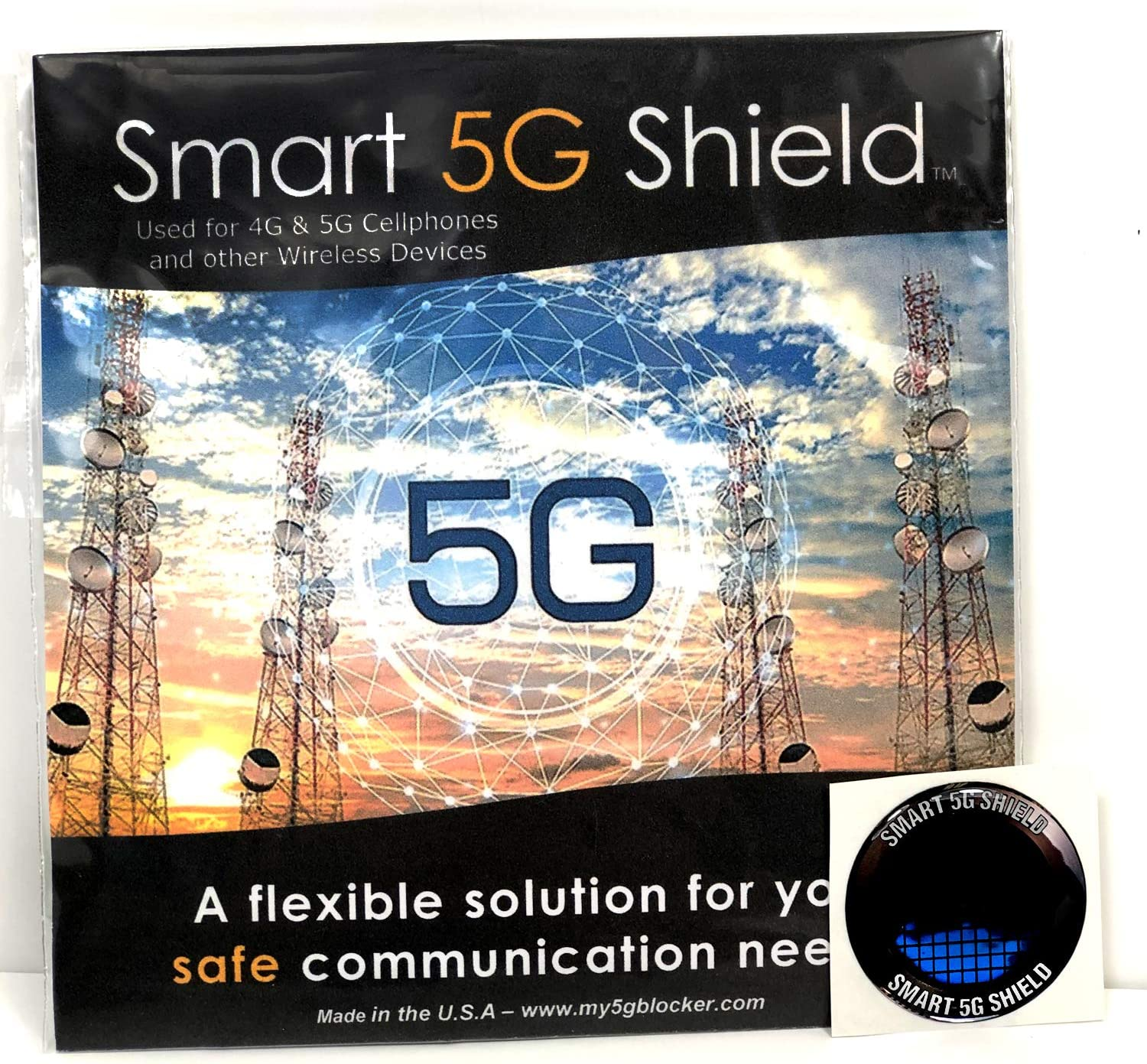 Wifi  5G  EMF Personal Protection Package