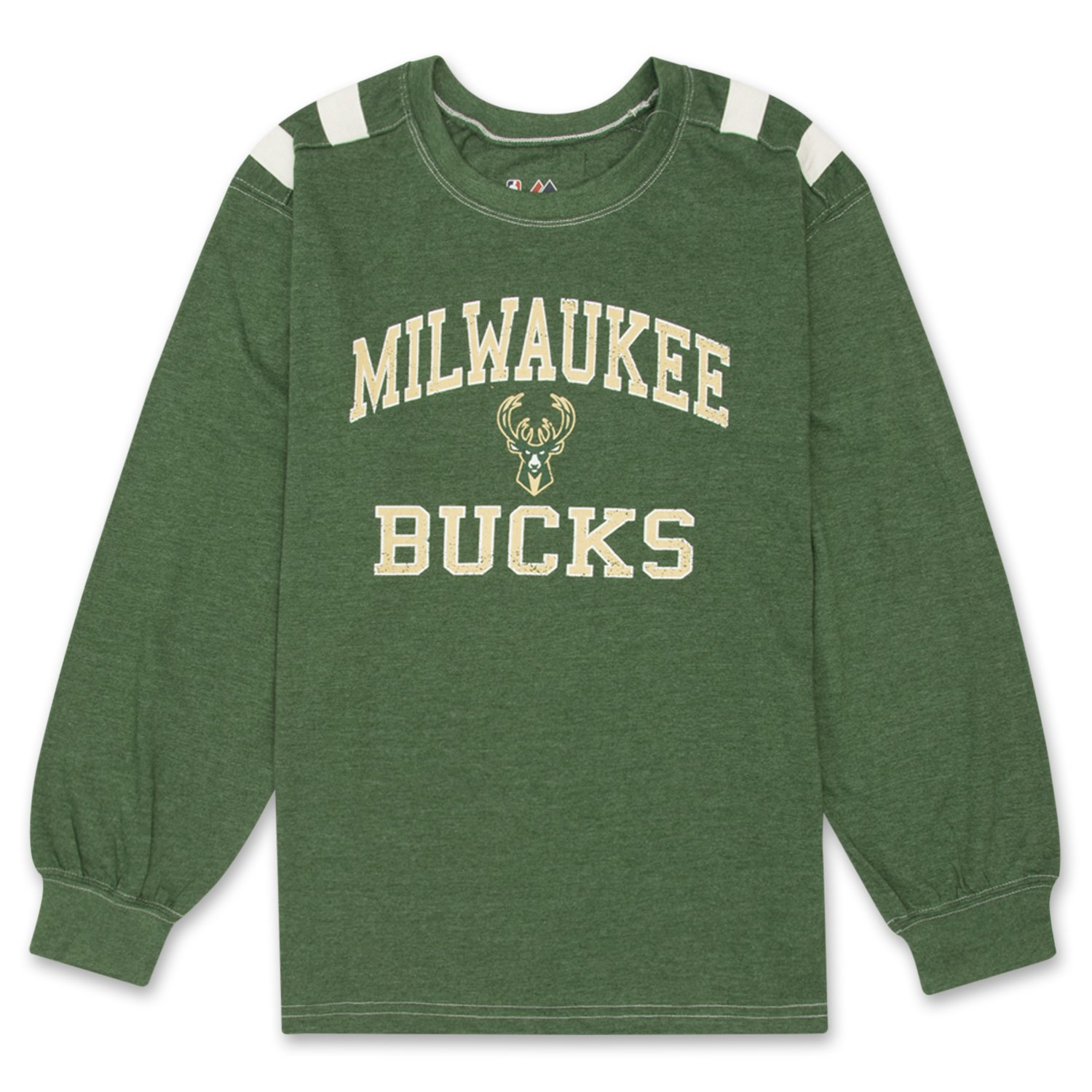 Amazon Nba Boys Long Sleeve Shoulder Print Crewneck Athletic