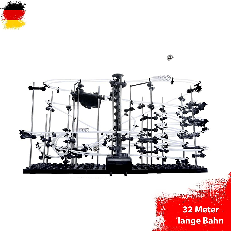 26 Meter Komplett-Set HSP Himoto Spacerail Level 4 Kugelbahn Murmelbahn mit Einer L/änge von ca Konstruktions-Set Exprementieren Verschiedene Level von Anf/änger bis Profi