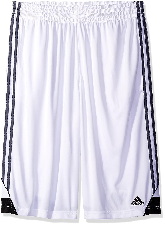 Adidasメンズ3Gスピード ビッグ&トール ショートパンツ B01DP51ZBE Large/Tall White/Onyx White/Onyx Large/Tall