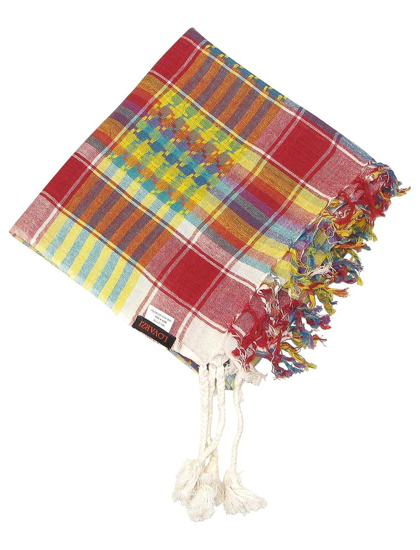 Lovarzi Desert Scarf Multicoloured Colourful fashion desert scarf for Men /& Women