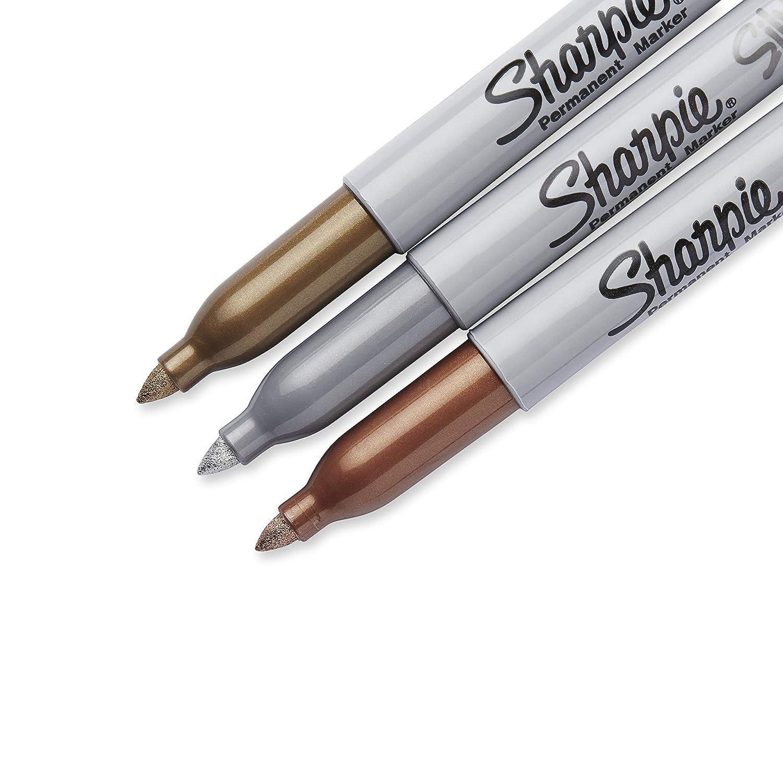 lot de/16 Sharpie kit de marqueurs permanents et de stylos feutres Paper Mate Flair assortiment de couleurs