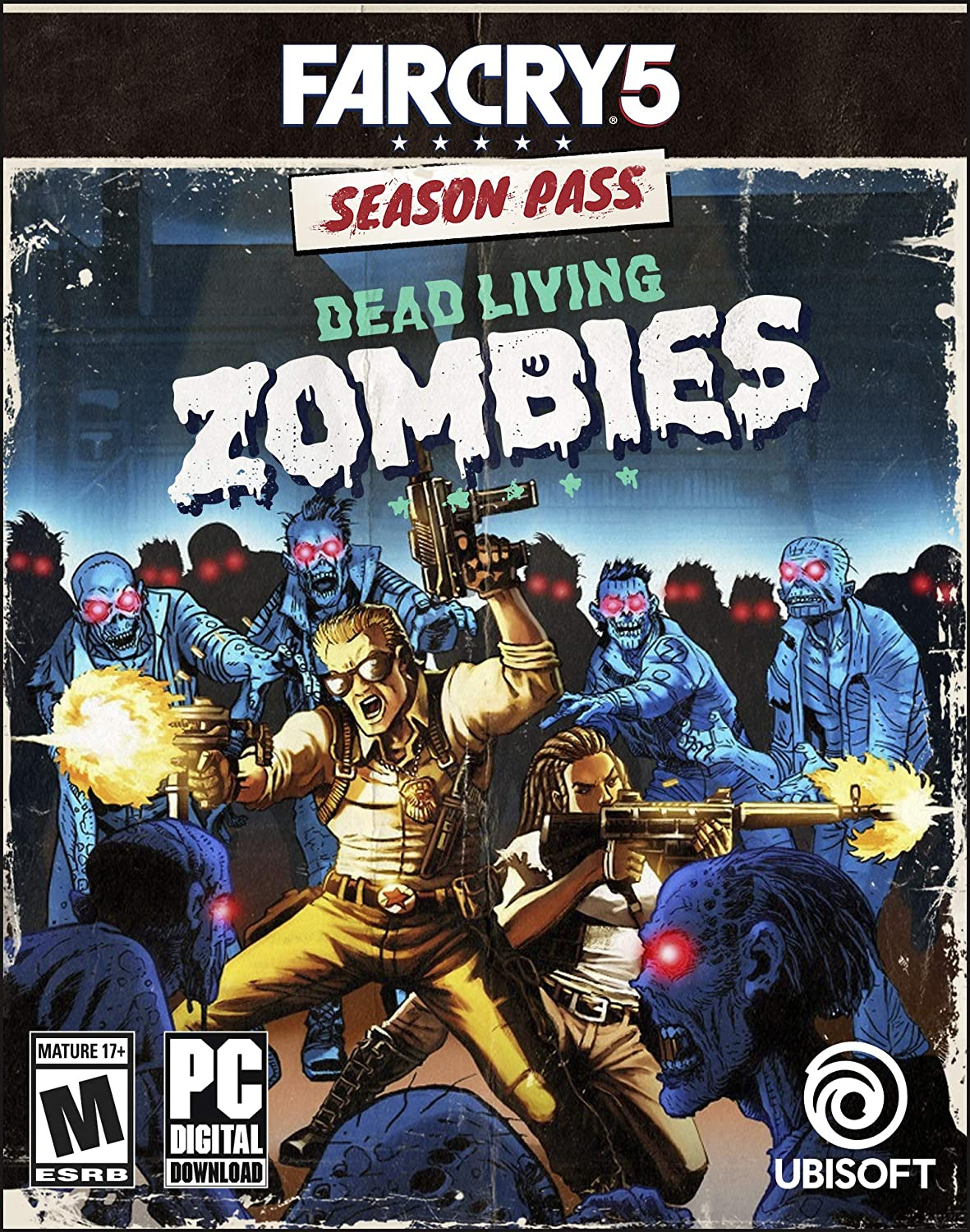 Amazon Com Far Cry 5 Dead Living Zombies Online Game Code Video Games