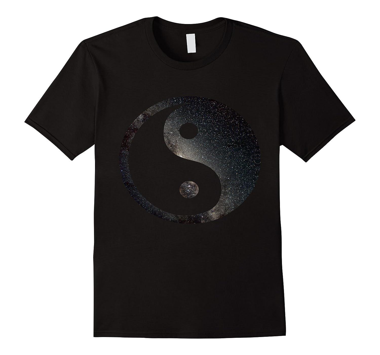 Awesome Space Yin Yang T-Shirt - Mens & Womens Sizes-T-Shirt
