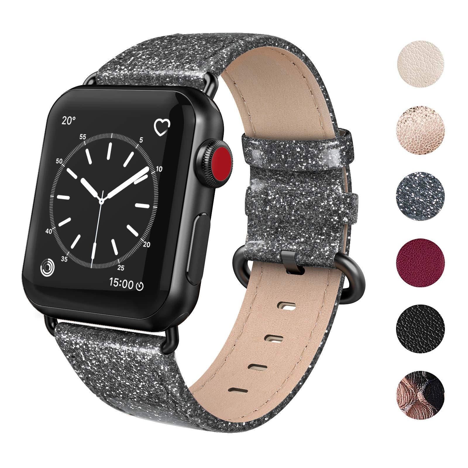 Malla Cuero para Apple Watch (38/40mm) SWEES [7FT43KHF]
