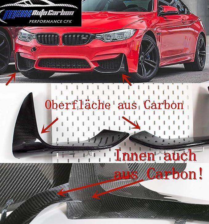 Max Auto Carbon Voll Carbon Echt Carbon 100 Carbon Front Flaps Front Lippen Performance Passend Für M3 F80 M4 F82 F83 Auto