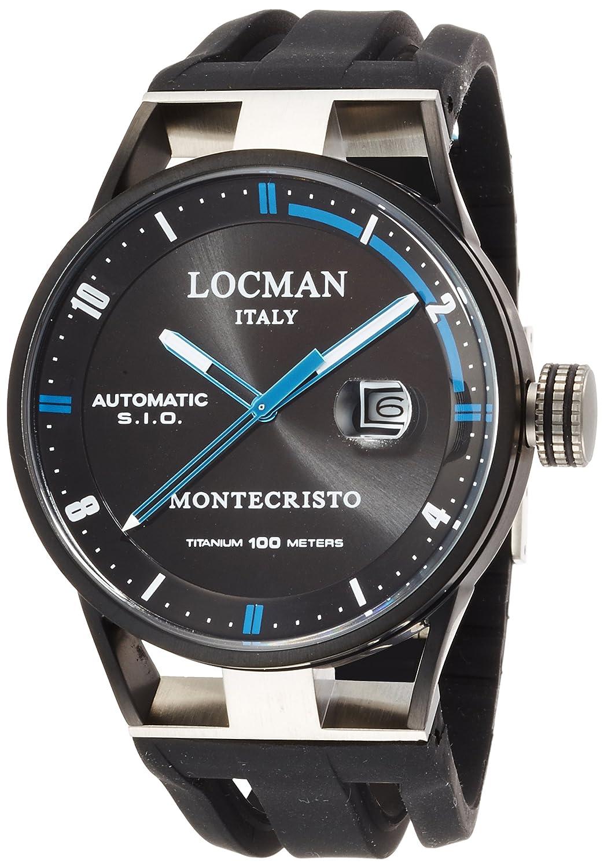 [ロックマン]LOCMAN 腕時計 MONTECRISTO 0511KNBKFBL0GOK メンズ 【正規輸入品】 B014FBA53Q
