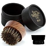 BFWood Beard Brush for Men - Boar Bristles Small