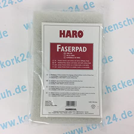 Faserpad White of Haro Parquet with Biotec Surface with Super Wax