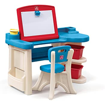 Amazon Com Step2 Great Creations Art Center Art Desk