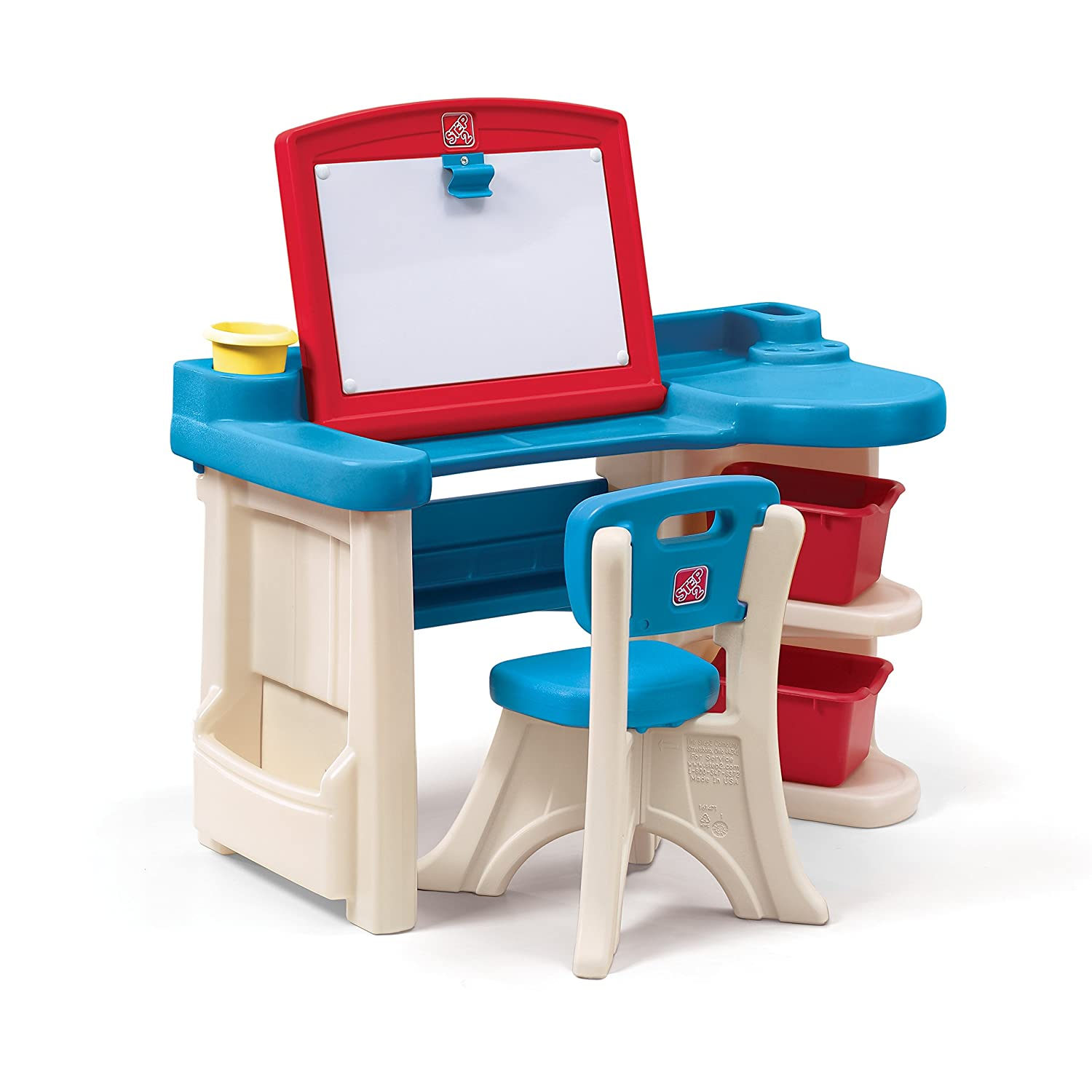 Amazon Step2 Studio Art Desk For Kids Toys & Games