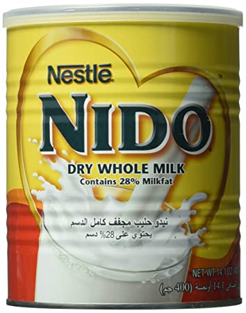 Nestle Nido Milk Powder, Imported, (400 gm), 14 1 Ounce Can