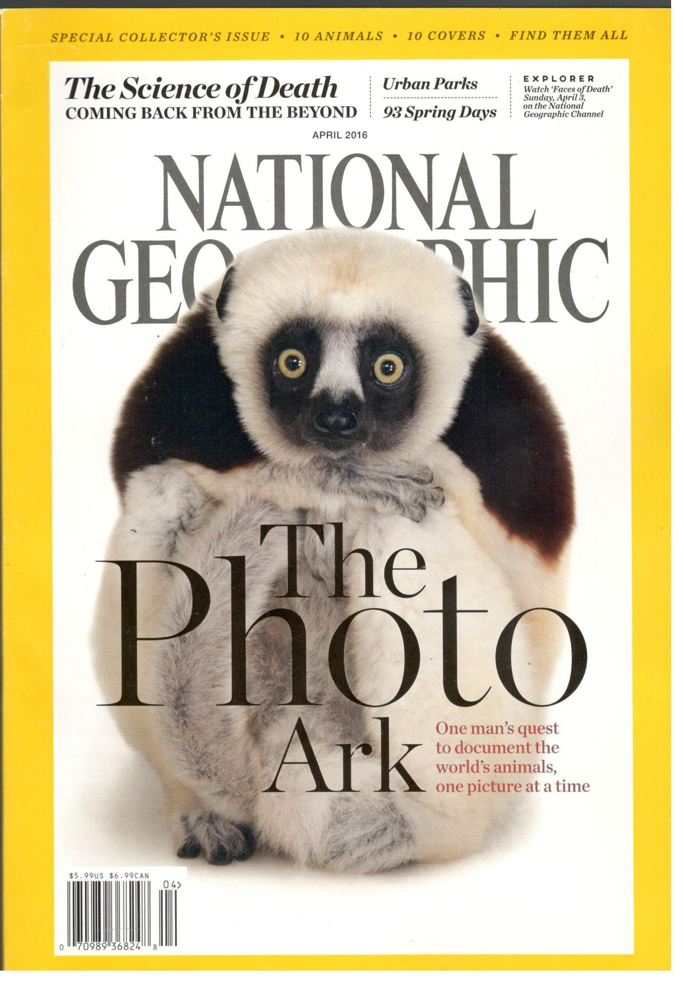 National Geographic Magazine (Coquerel`s Sifaka Cover,April 2016) PDF