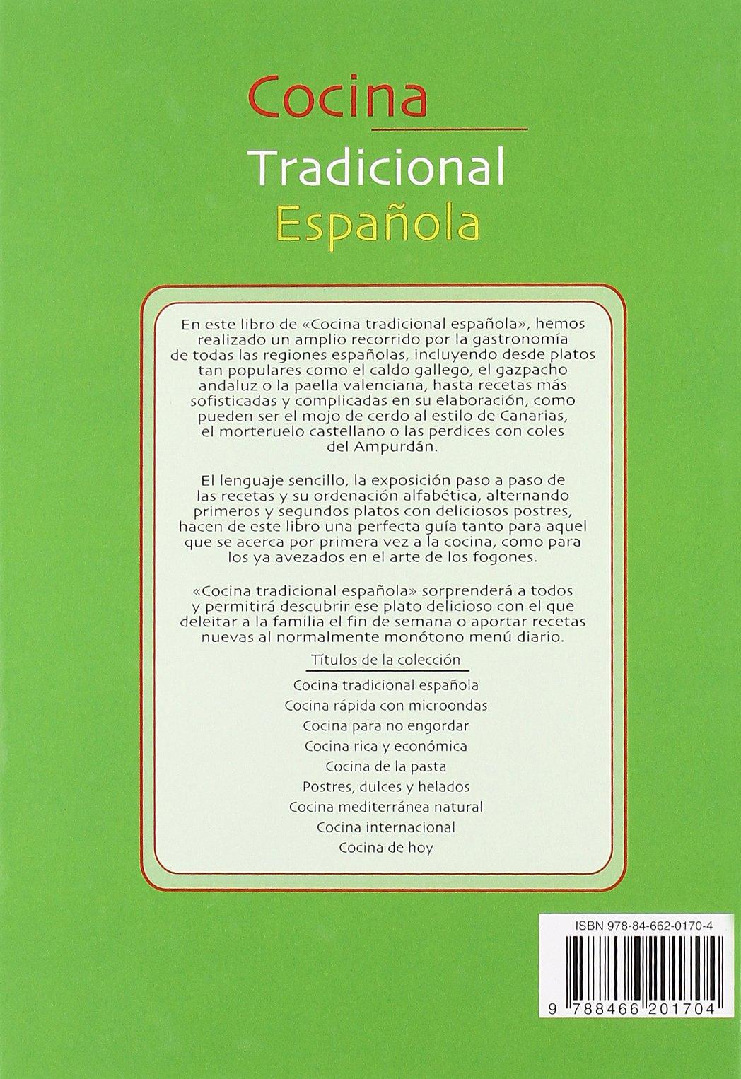 Cocina Tradicional Española (La Mejor Gastronomía): Amazon.es: Sanjuan, Gloria: Libros