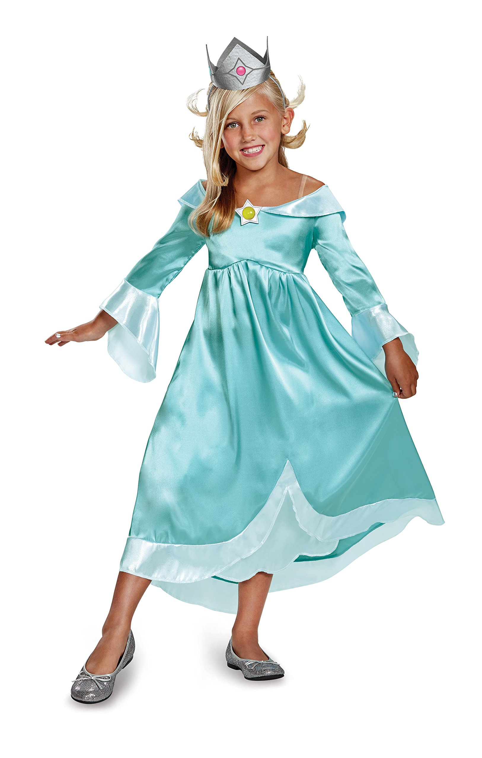 Rosalina Classic Costume, Blue, Medium (7-8)