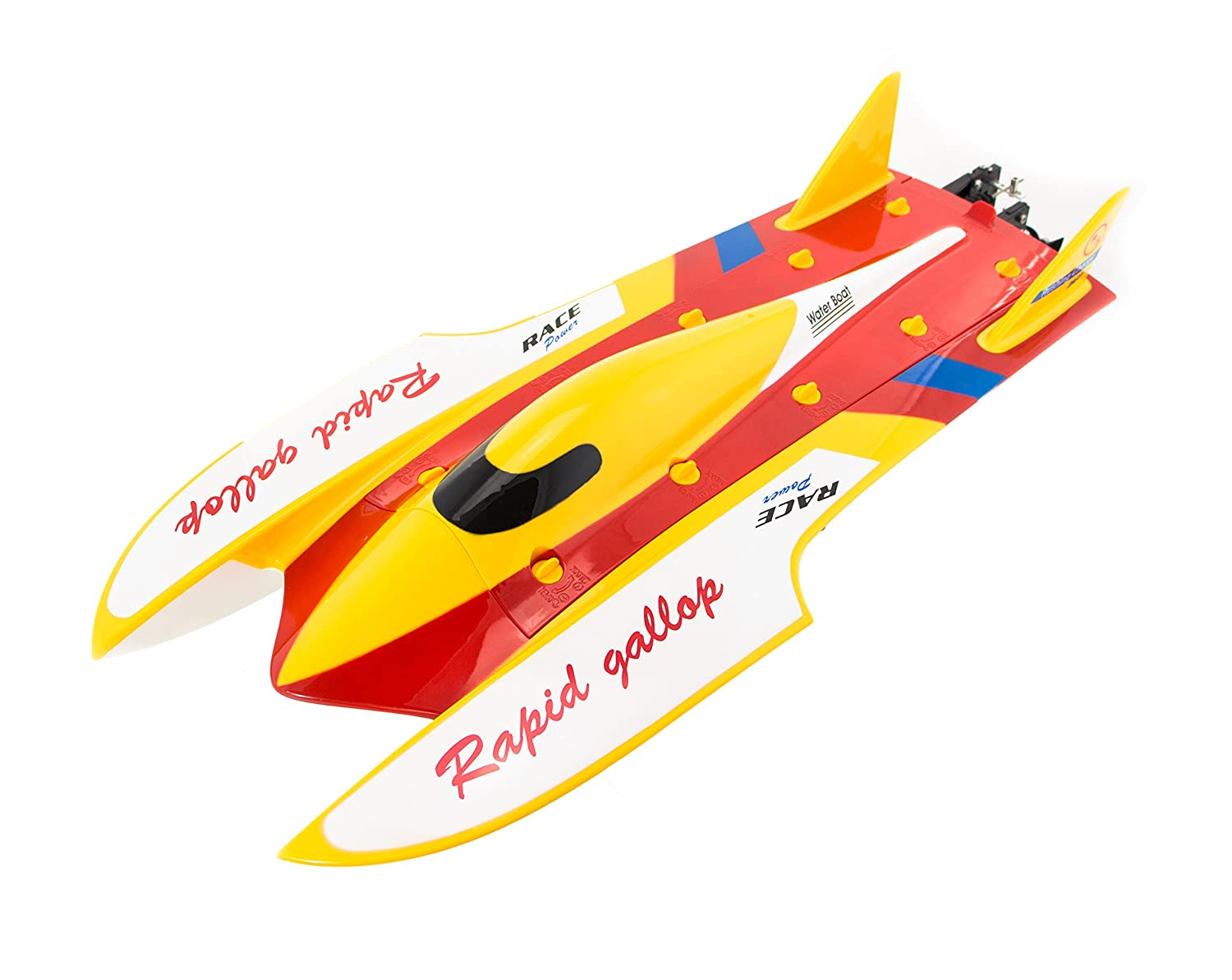 Monstertronic RC Brushless Rennboot Barracuda RTR 2,4 Ghz