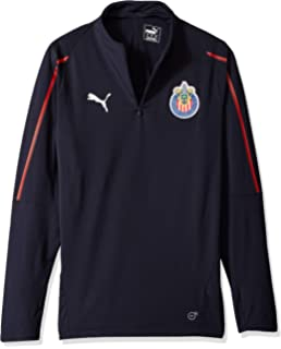PUMA Mens Chivas 1/4 Zip Top