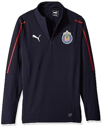 418b07d36f9c8 PUMA Men's Chivas 1/4 Zip Top at Amazon Men's Clothing store: