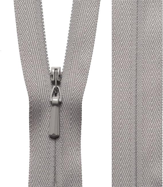 """Qualità eccellente AVORIO YKK nascosta estremità chiuse le cerniere GRATIS P/&P 38cm 15/"""" pollici"""