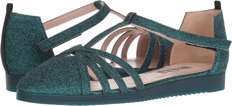 SJP by Sarah Jessica Parker Women's Meteor Sneaker B079CPT8YG 37 B EU|Give Teal Glitter