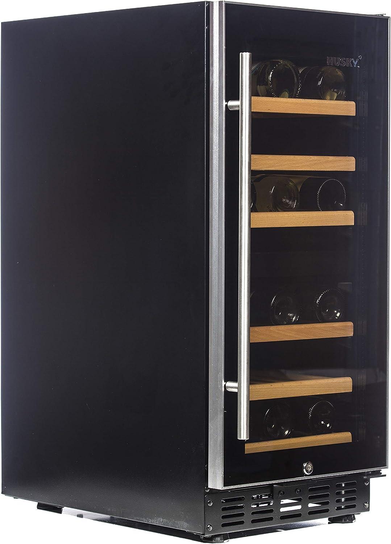 Wine Fridges Large Appliances Black HUS-ZY3-D-NS-26 Husky 26 ...