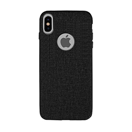 brand new 6af9e 594c0 Gripp Heritage Logo Cut (Crafted With Premium Leatherette & Metallic Edge)  Case For Apple iPhone X (Apple iPhone 10) (Smoke)