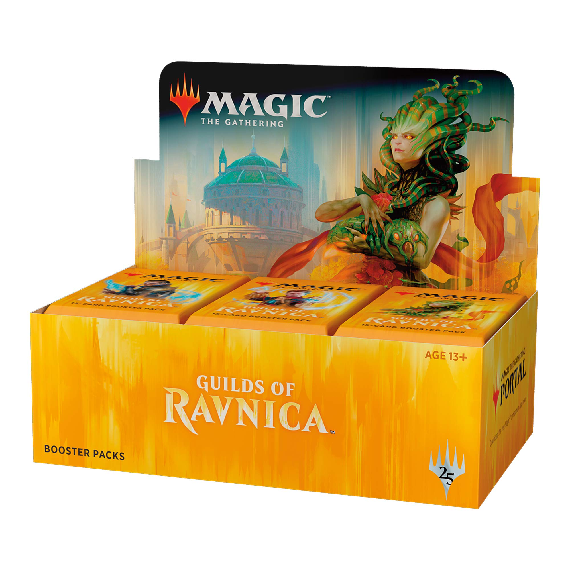 Magic: The Gathering Guilds of Ravnica Booster Box | 36 Booster Packs (540 Cards) by Magic: The Gathering (Image #1)