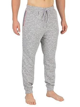 1540c75a0d Lacoste Homme Bas de Pyjama rayé, Gris: Amazon.fr: Vêtements et ...